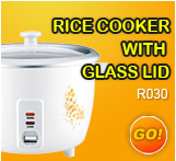 Rice cook with classlid
